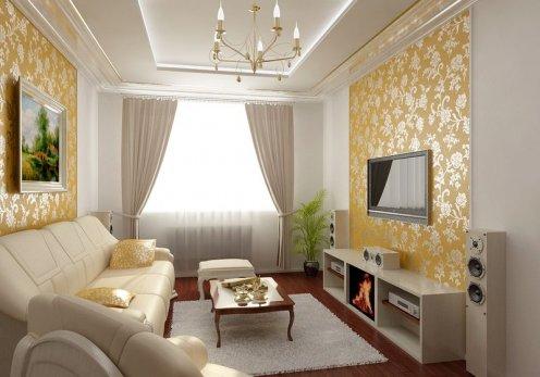 Ремонт квартиры своими руками гостиная фото 3